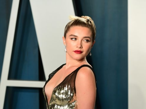 Florence Pugh attending the Vanity Fair Oscar Party (Ian West/PA)