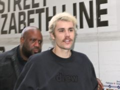 Justin Bieber has revealed he has shaved off his moustache (Yui Mok/PA)