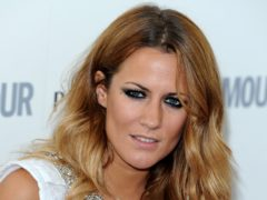 Caroline Flack's family have released an unpublished Instagram post that the star wrote in the days before her death (Ian West/PA)