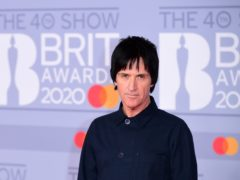 Johnny Marr arriving at the Brit Awards 2020 at the O2 Arena, London (Ian West/PA)