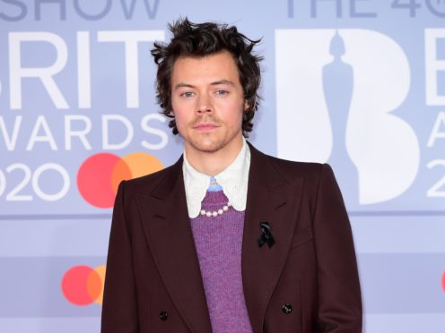 Harry Styles arrives at the Brits (Ian West/PA)