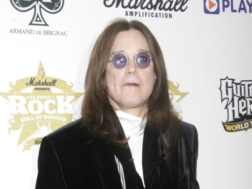 Ozzy Osbourne has revealed he plans to get back in the studio as soon as next month, despite only releasing an album last week (Yui Mok/PA)