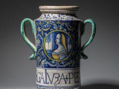 The Italian albarello (Sam Fogg/PA)