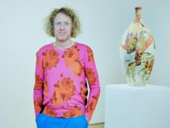 British artist Grayson Perry has won the prestigious Erasmus Prize (Chris McAndrew/PA)