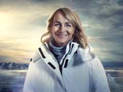 Louise Minchin has spoken about her 'personal' reason for doing Sport Relief's frozen lake trek (Sam Riley/Comic Relief/PA)