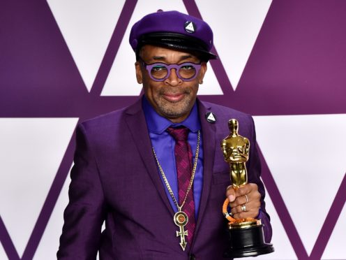 Spike Lee chose a Kobe Bryant-inspired suit for this year's Oscars (Alberto Rodriguez/PA)