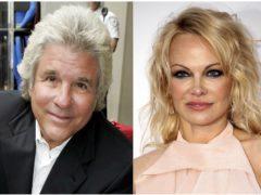 Jon Peters and Pamela Anderson (AP)