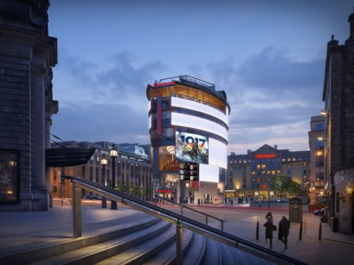 An artist's impression of the planned new Filmhouse building in Edinburgh (Richard Murphy Architects/PA)