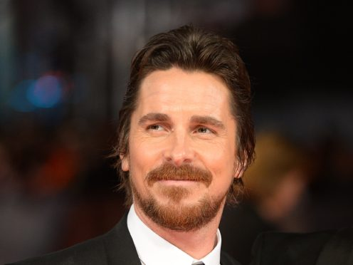 Christian Bale is set to play the villain in an upcoming Marvel film, one of the movie's stars has said (Dominic Lipinski/PA)