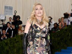 Madonna paid tribute to Mark Blum (Aurore Marechal/PA)
