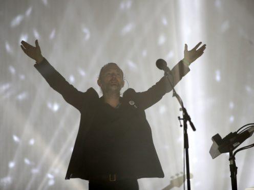 Thom Yorke of Radiohead (Yui Mok/PA)