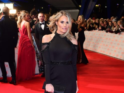The Only Way Is Essex star Danielle Armstrong has announced she is engaged (Ian West/PA)