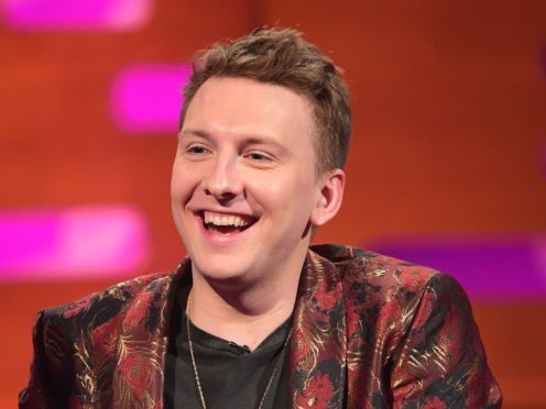 Joe Lycett during the filming of the Graham Norton Show at BBC (Ian West/PA)