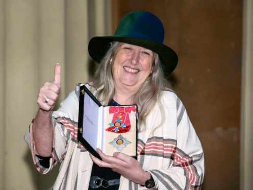 Professor Mary Beard is a vocal advocate the EU (Steve Parsons/PA)