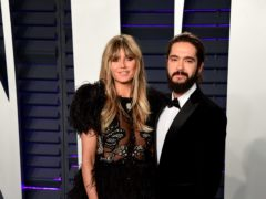 Heidi Klum, left, and Tom Kaulitz (Ian West/PA)