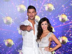 Aljaz Skorjanec and Janette Manrara (Ian West/PA)