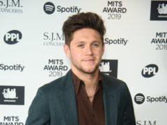 Niall Horan's debut album hit number three in the charts (Matt Crossick/PA)