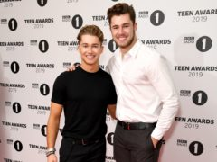 AJ Pritchard, left, and Curtis Pritchard (Scott Garfitt/PA)
