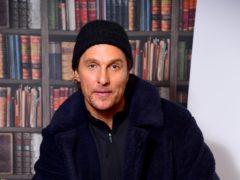 Matthew McConaughey has urged fans to stay home to halt the spread of coronavirus (Ian West/PA)