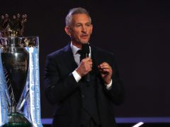 Presenter Gary Lineker (Jane Barlow/PA)