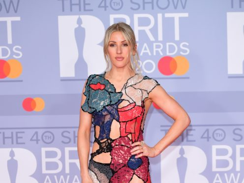 Ellie Goulding has opened up on her 'addiction' to exercise and said at one point working out was taking priority over recording music (Ian West/PA)