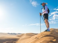 Celebrities broke down as they tackled a punishing Sport Relief challenge trekking 100 miles across the unforgiving Namib Desert (Leo Francis/Comic Relief/PA)