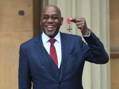 Ainsley Harriott with his MBE (Kirsty O'Connor/PA)