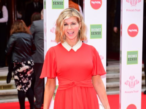 Kate Garraway is among the presenters joining in with the campaign (Ian West/PA)