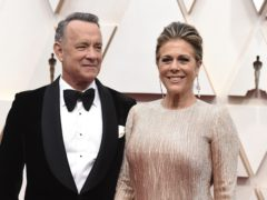 Tim Allen wished Tom Hanks and Rita Wilson well after they were diagnosed with coronavirus (Jordan Strauss/AP)