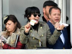 Lily Allen at the Cheltenham Festival (Jacob King/PA)