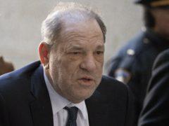 Harvey Weinstein has tested positive for coronavirus (Mark Lennihan/AP)