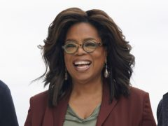 Oprah Winfrey has quarantined her partner in the guest house (AP/Tony Avelar, File)