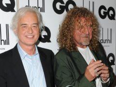 Jimmy Page and Robert Plant (Zak Hussein/PA)