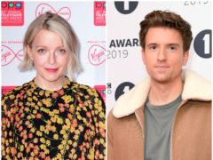 Lauren Laverne and Greg James will take part in the mass singalong (PA Wire/PA)