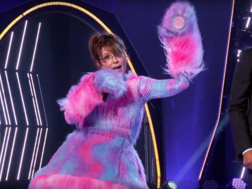 Sarah Palin on The Masked Singer (NBC)