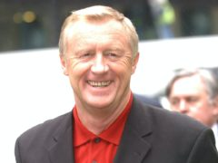 Chris Tarrant arrives at Southwark Crown Court for the trial in 2003 (Stefan Rousseau/PA)
