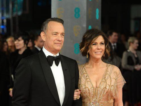 Tom Hanks and Rita Wilson were diagnosed with Covid-19 while in Australia (Dominic LIpinski/PA)