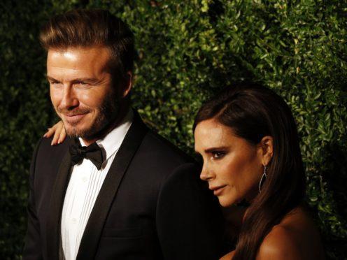 David and Victoria Beckham (Jonathan Brady/PA)