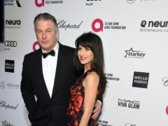 Alec Baldwin's wife Hilaria has revealed she is pregnant, five months after suffering a miscarriage (PA)