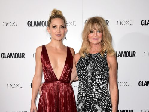 Kate Hudson and Goldie Hawn (Ian West/PA)