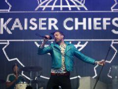 Ricky Wilson of the Kaiser Chiefs (Jane Barlow/PA)