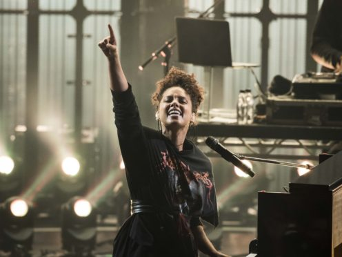 Alicia Keys has an album coming out in May (David Jensen/PA)