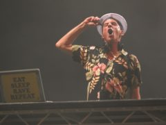 Fatboy Slim has announced a free concert for NHS staff and emergency services workers (Yui Mok/PA)