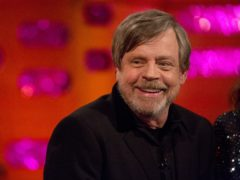 """A reflective Mark Hamill has thanked Star Wars fans for an """"extraordinary journey"""" as he looked back on more than 40 years of the seminal franchise (Isabel Infantes/PA)"""