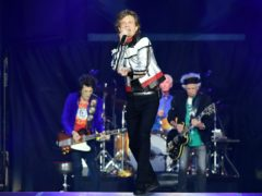 The Rolling Stones in concert (Ian West/PA)
