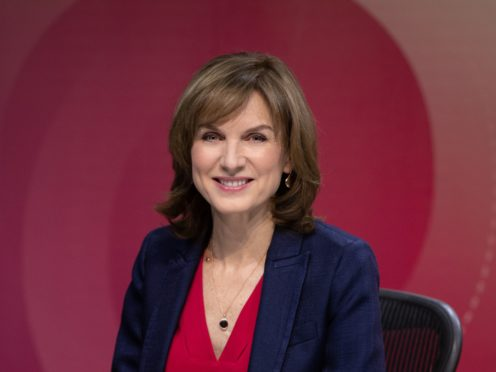 BBC news presenter Fiona Bruce (PA)
