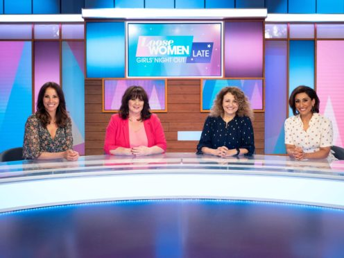 Three panellists will be in the studio with one joining via video link when the show returns (ITV/PA)