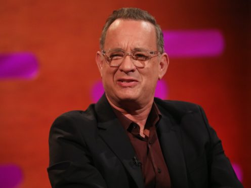 Tom Hanks had to spend time in isolation in Australia (Isabel Infantes/PA)