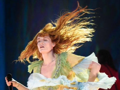 A Florence And The Machine track kicked off the singalong (Matt Crossick/PA)