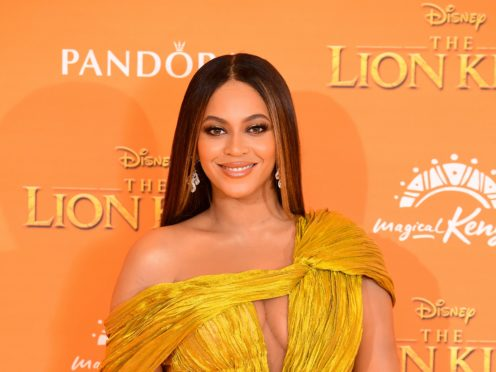 Beyonce made fans' wishes come true with a surprise performance on Disney Family Singalong (Ian West/PA)